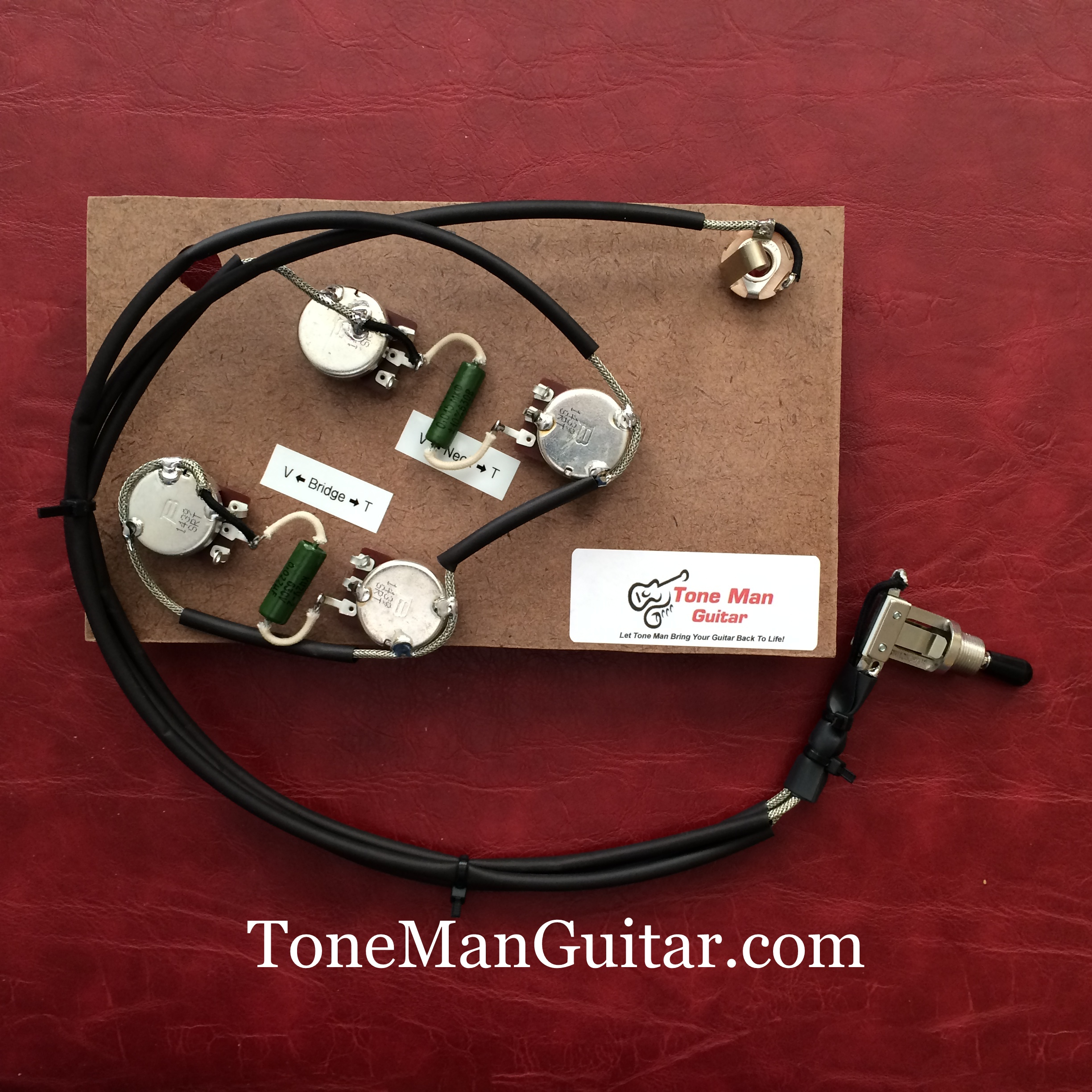 Gibson 50s Wiring Kit The Portal And Forum Of Diagram Diagrams For Epiphone Sg Es175 Es295 Prebuilt Upgrade Pio Tone Rh Tonemanguitar Com Vintage Les Paul